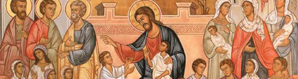 Бог, дијете, кроз породично гнијездо нама долази